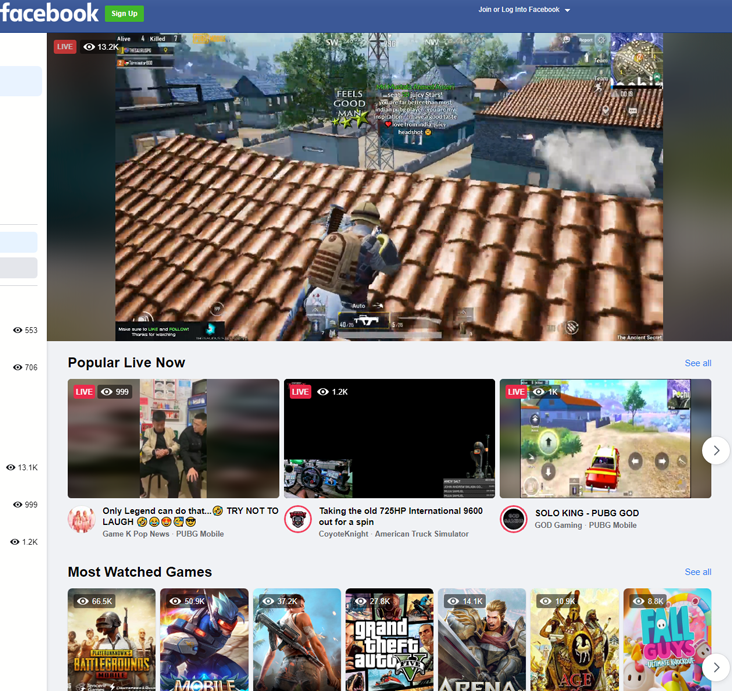 Facebook Gaming - facebook.comgaming