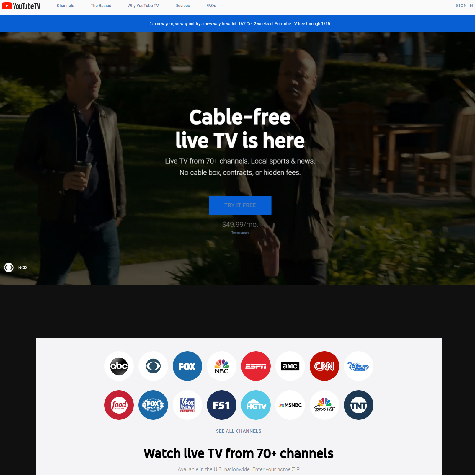 YouTube TV - tv.youtube.com