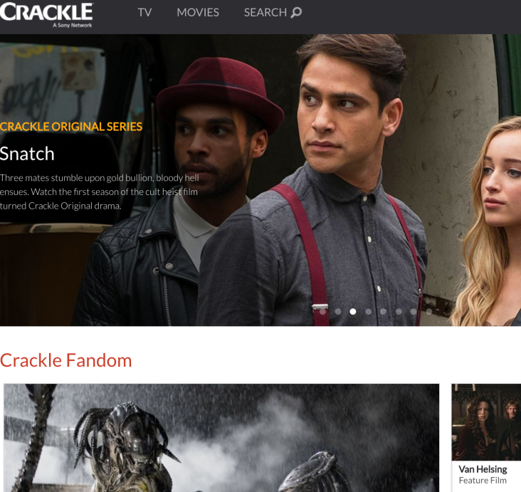 Sony Crackle - sonycrackle.com