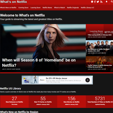 What's on Netflix - whats-on-netflix.com