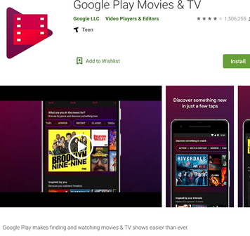 Google Play Movies & TV - play.google.comstoreappsdetails?id=com.google.android.videos&hl=en_US