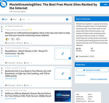 r/MovieStreamingSites - reddit.comrMovieStreamingSites