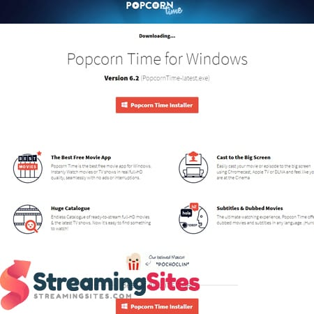 Popcorn Time - getpopcorntime.is