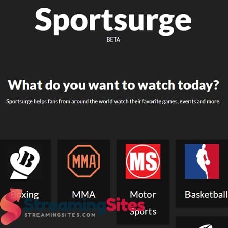 streaming sports