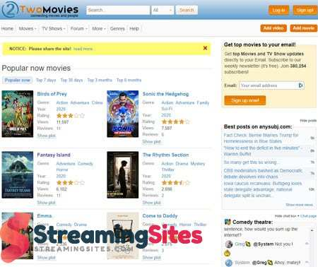 TwoMovies - two-movies.org
