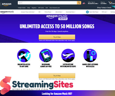 Amazon Music Unlimited - amazon.commusicunlimited