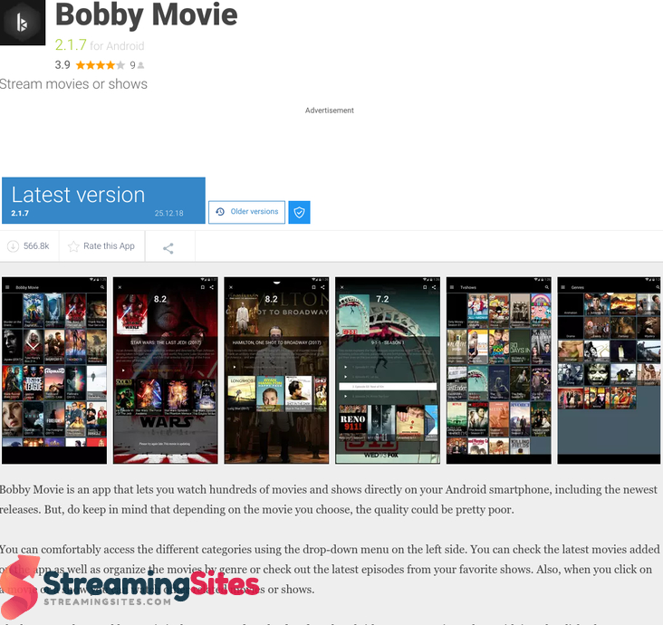 Bobby Movie - bobby-movie.en.uptodown.comandroid