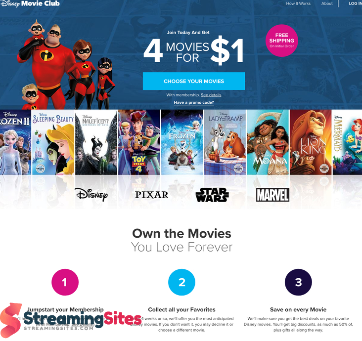 Disney Movie Club - disneymovieclub.go.com