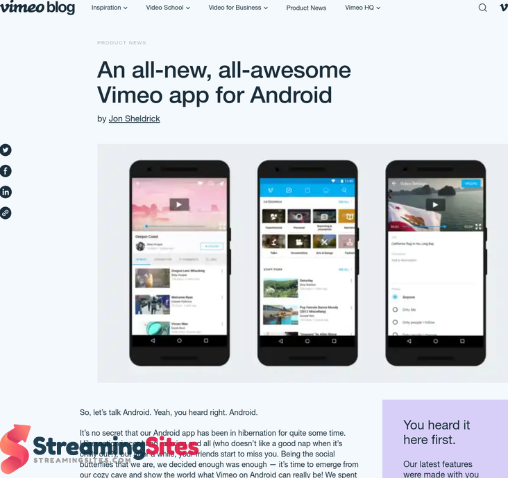 Vimeo - vimeo.comblogpostan-all-new-all-awesome-vimeo-app-for-android