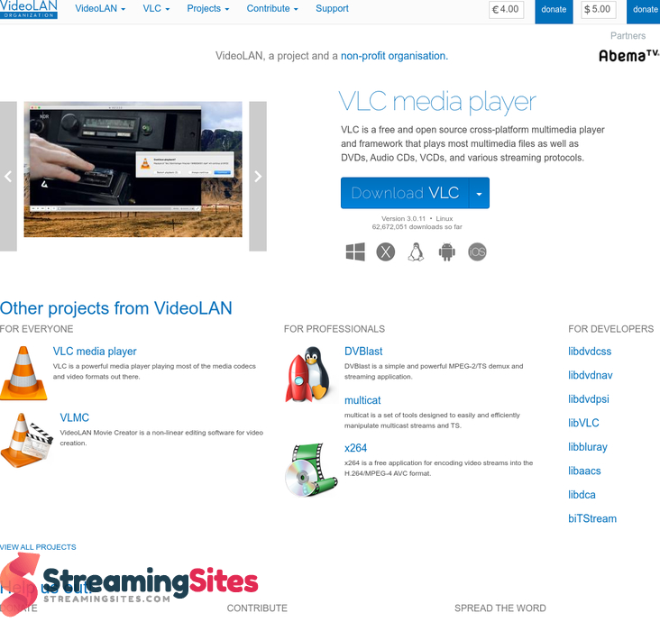 VLC Media Player - videolan.org